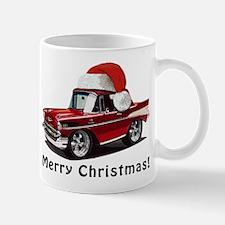 BabyAmericanMuscleCar_57BelR_Xmas_Red Mugs