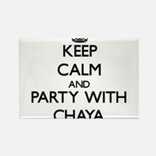 Keep Calm and Party with Chaya Magnets