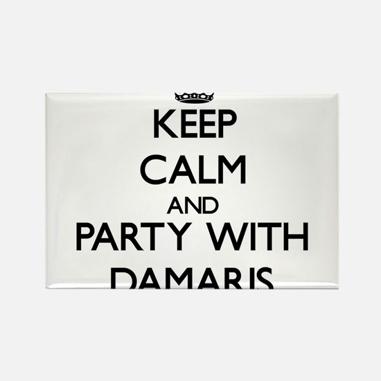 Keep Calm and Party with Damaris Magnets