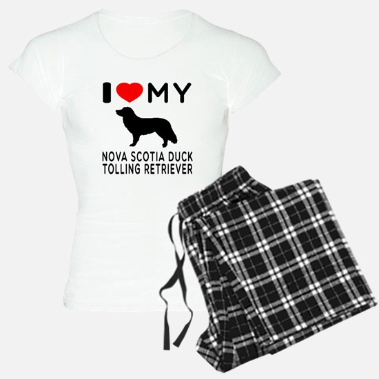 I Love My Nova Scotia Duck Tolling Retriever Women