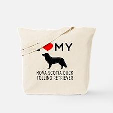 I Love My Nova Scotia Duck Tolling Retriever Tote