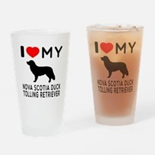 I Love My Nova Scotia Duck Tolling Retriever Drink