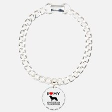 I Love My Nova Scotia Duck Tolling Retriever Bracelet