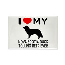 I Love My Nova Scotia Duck Tolling Retriever Recta