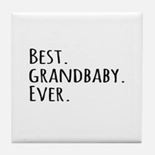 Best Grandbaby Ever Tile Coaster