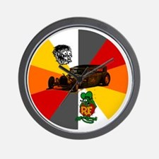 Rat Fink, Rat Rod Wall Clock