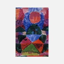 Tegernsee by Paul Klee Rectangle Magnet