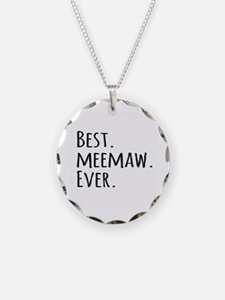 Best Meemaw Ever Necklace