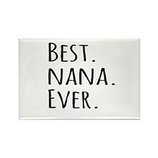 Best Nana Ever Magnets