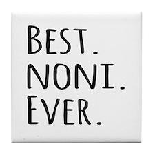 Best Noni Ever Tile Coaster
