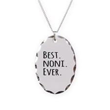 Best Noni Ever Necklace Oval Charm