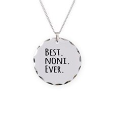 Best Noni Ever Necklace Circle Charm
