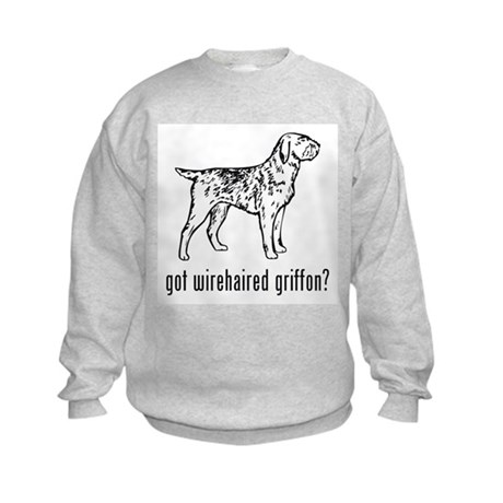 Wirehaired Griffon Kids Sweatshirt