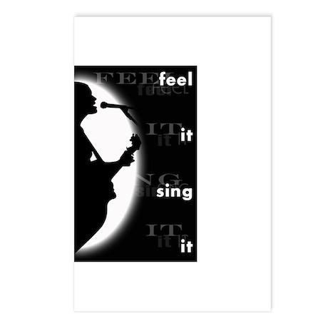 feel it sing it Postcards (Package of 8)