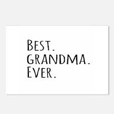 Best Grandma Ever Postcards (Package of 8)