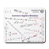 Common calculus mistakes Classic Mousepad