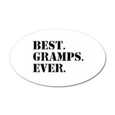 Best Gramps Ever Wall Sticker