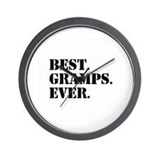 Best Gramps Ever Wall Clock
