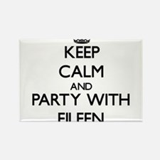 Keep Calm and Party with Eileen Magnets