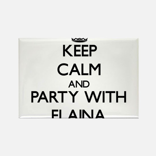 Keep Calm and Party with Elaina Magnets