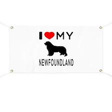 I Love My Newfoundland Banner