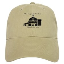 What happens in the barn Baseball Cap