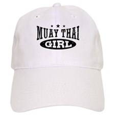 Muay Thai Girl Baseball Cap