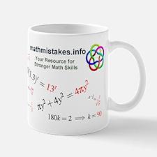 Common Algebra Mistakes Mug