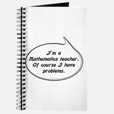 Math Teacher Pun Journal