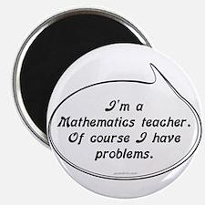 Math Teacher Pun Magnet