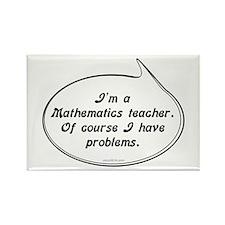 Math Teacher Pun Rectangle Magnet (100 pack)
