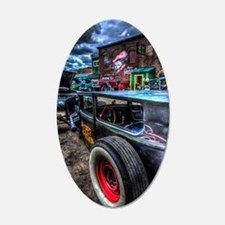 Rat Rod Wall Decal
