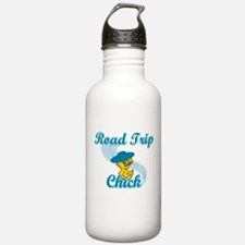 Road Trip Chick #3 Water Bottle