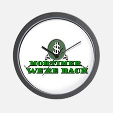 Mortimer we're back. Wall Clock