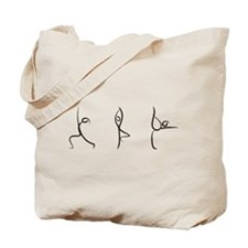 Yoga Pose Tote Bag