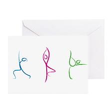 Yoga Pose Greeting Cards (Pk Of 10)
