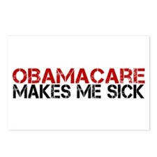 ObamaCare Makes Me Sick Postcards (Package of 8)
