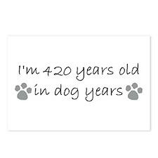 60 dog years 2-2.JPG Postcards (Package of 8)