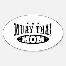 Muay Thai Mom Decal