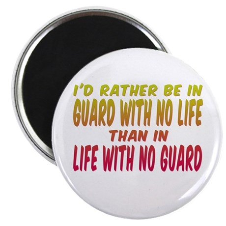 I'd rather be in guard... Magnet