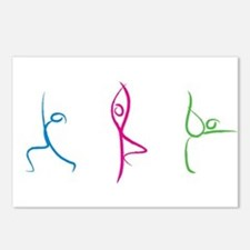Yoga Poses Postcards (Package Of 8)