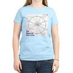 Amazing Unit Circle Women's Light Color T-Shirt