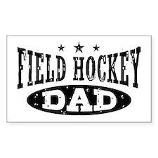 Field Hockey Dad Decal