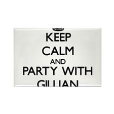 Keep Calm and Party with Gillian Magnets