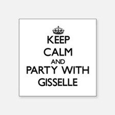 Keep Calm and Party with Gisselle Sticker