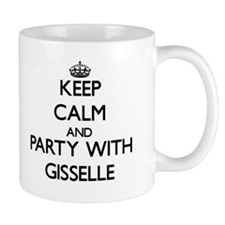 Keep Calm and Party with Gisselle Mugs
