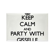 Keep Calm and Party with Gisselle Magnets