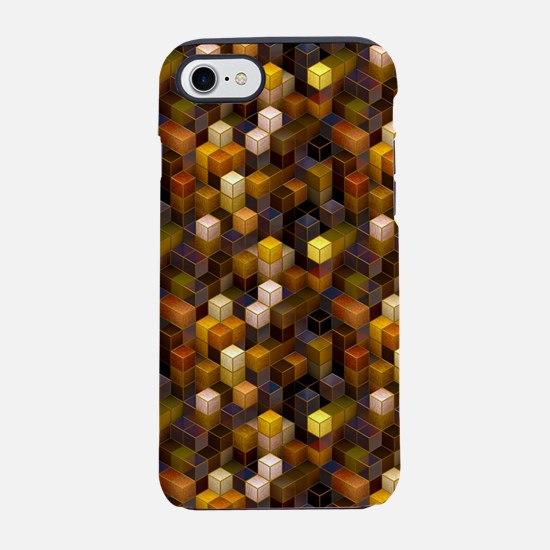 SteamCubism - Brass iPhone 7 Tough Case