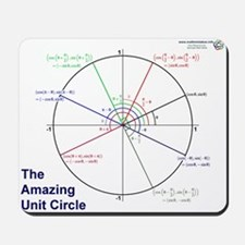 Amazing Unit Circle Mousepad