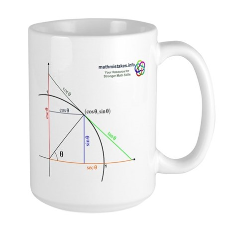 Amazing Unit Circle Large Mug
